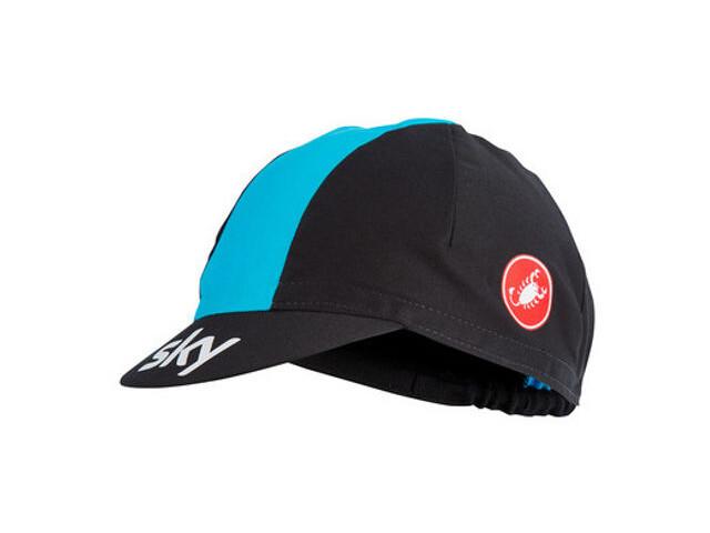 Castelli Team Sky Hovedbeklædning blå/sort